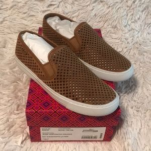 Tory Burch Jesse Quilted Sneaker Sz 6.5